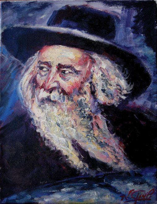 """Smuel, """"Ritratto di rabbino"""""""