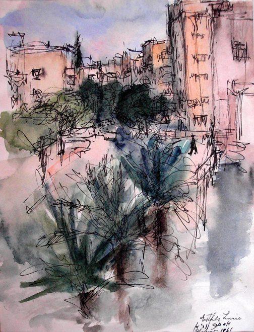 """Lurie, """"Paesaggio Tel Aviv"""""""