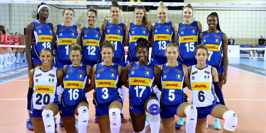 Ambasciatori della Grande Milano: <br />la Nazionale femminile di pallavolo