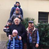 Una foto, un augurio per i miei nipoti. E per chi passa davanti a casa nel borgo dei pescatori di Cesenatico