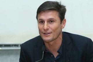 Ambasciatori della Grande Milano: Javier Zanetti, vicepresidente dell'Inter
