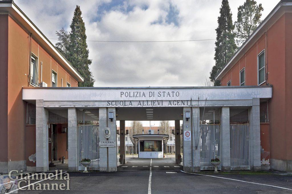 Entrata della scuola di Polizia di Alessandria © Mesturini Morelli