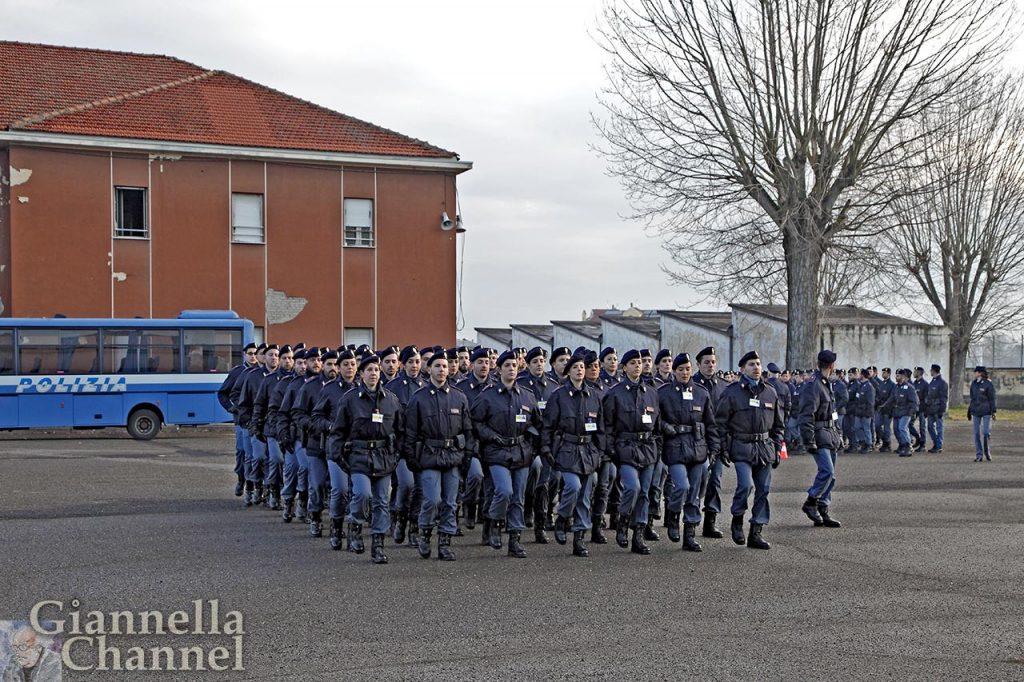 Prove del Giuramento alla Sc. Polizia di Alessandria © Mesturini Morelli