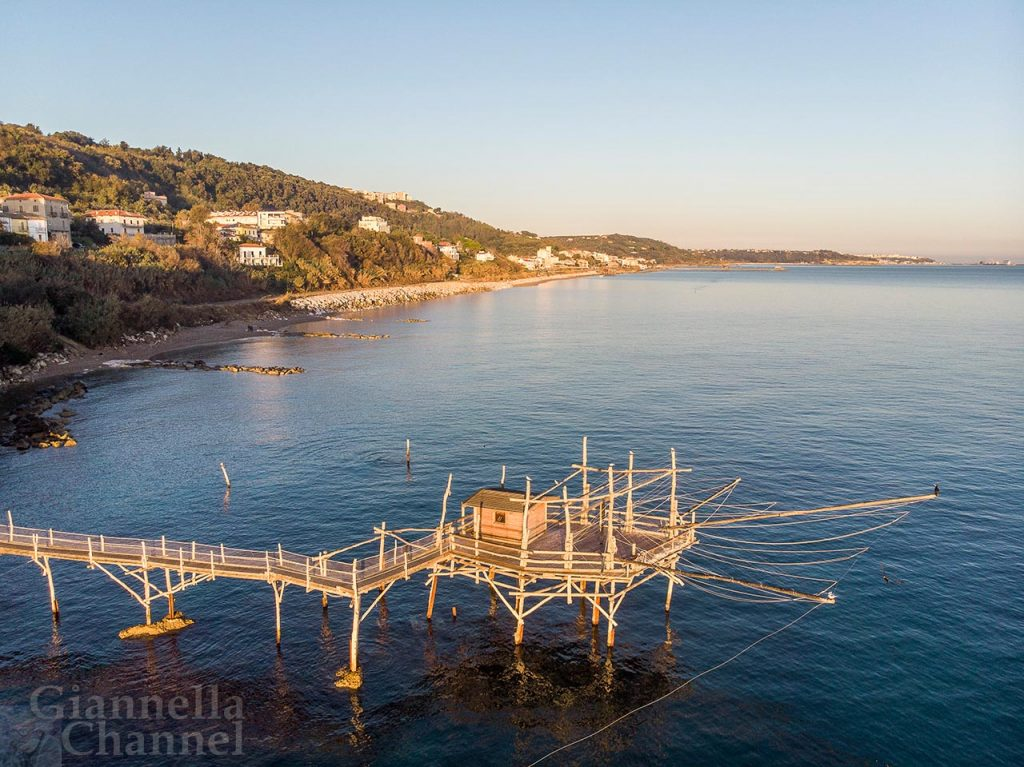 Trabocco Turchino, Marina di San Vito (CH), foto Antonio Straccini © FAI - Fondo Ambiente Italiano