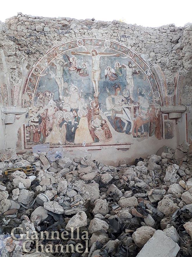 Chiesa di San Salvatore a Campi di Norcia (PG)