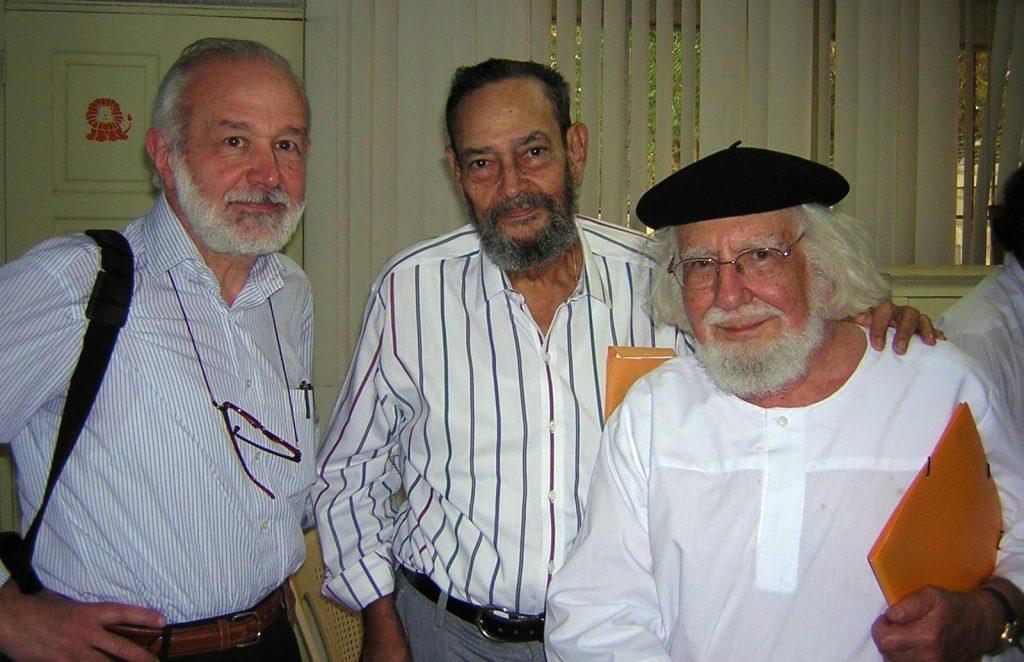 Masera con Silva e Cardenal