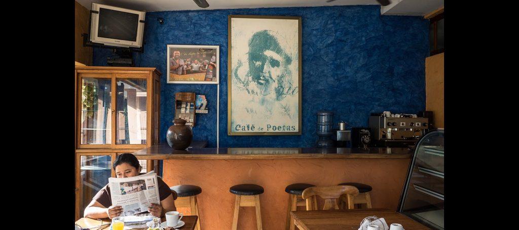 Managua, cafè de poetas