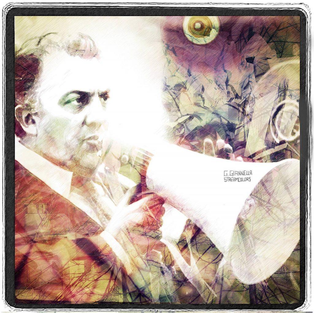 Ritratto digitale di Federico Fellini