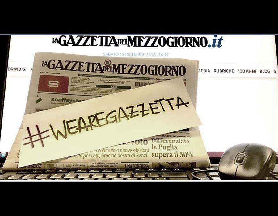 Gazzetta vivrai! Traghettiamo <br />fuori dalla crisi il quotidiano <br />di Bari e delle regioni vicine