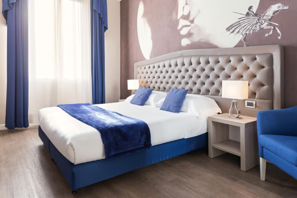 La stanza di Ludovico Ariosto all'hotel Ala d'Oro