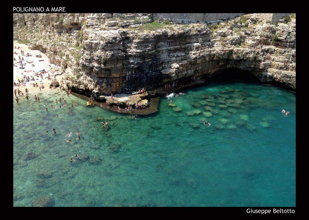 Il mare di Polignano