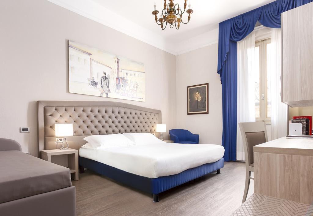 La stanza di Lord Byron all'hotel Ala d'Oro