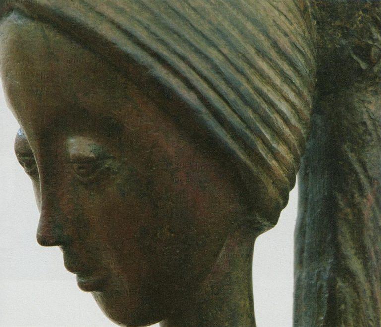 Antonio Di Pillo - 'Figura femminile', 1964, bronzo, particolare