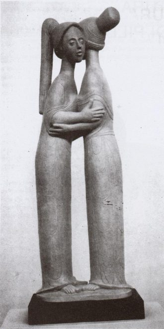 Antonio Di Pillo - 'Sorelle', terracotta