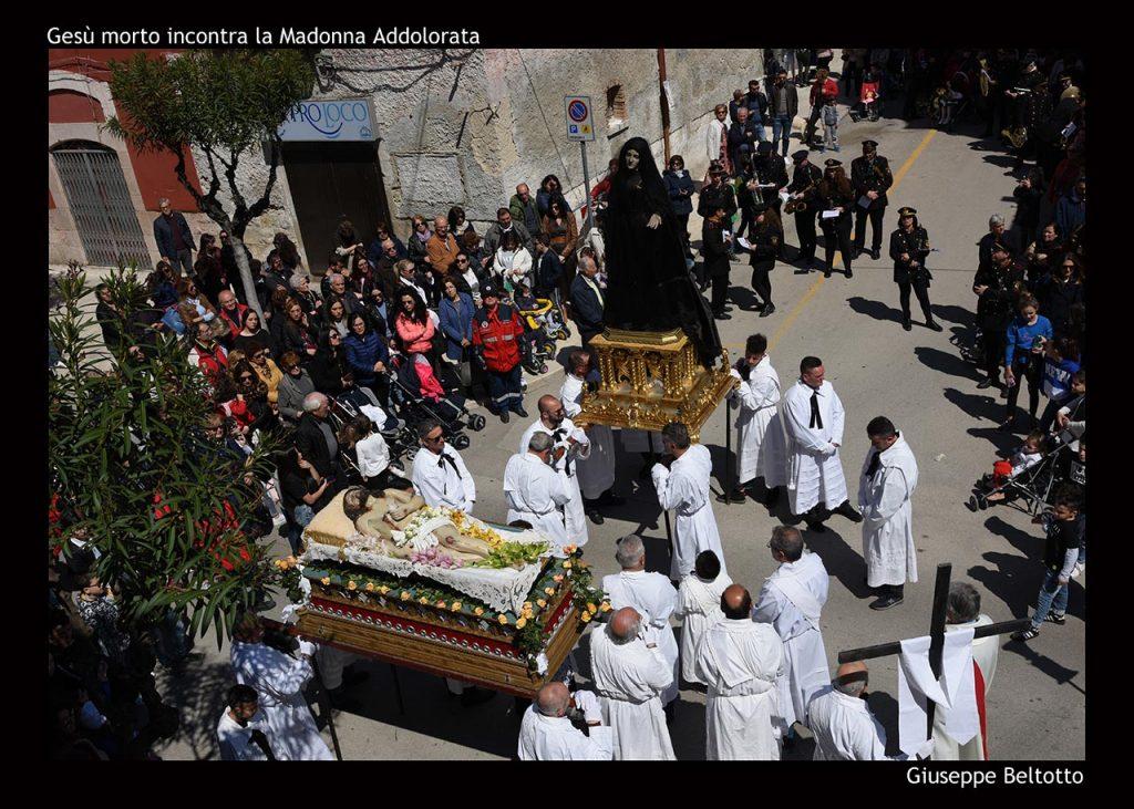 Processione dell'Addolorata a Trinitapoli