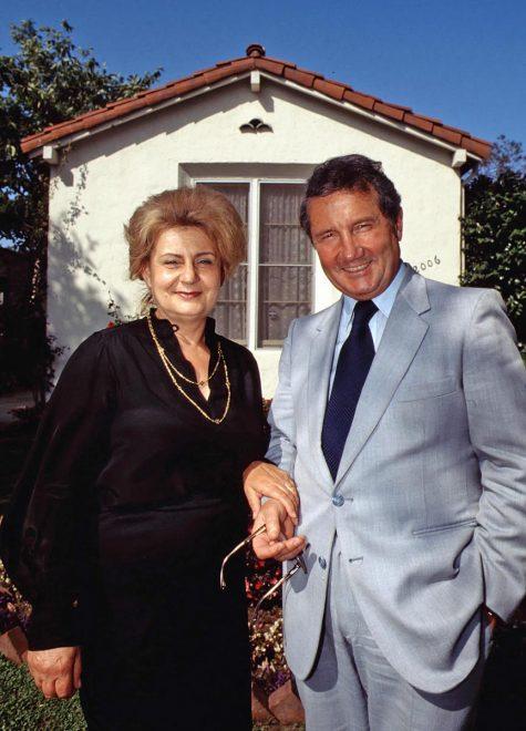 Rossana e Carlo Pedretti. Los Angeles, 1984