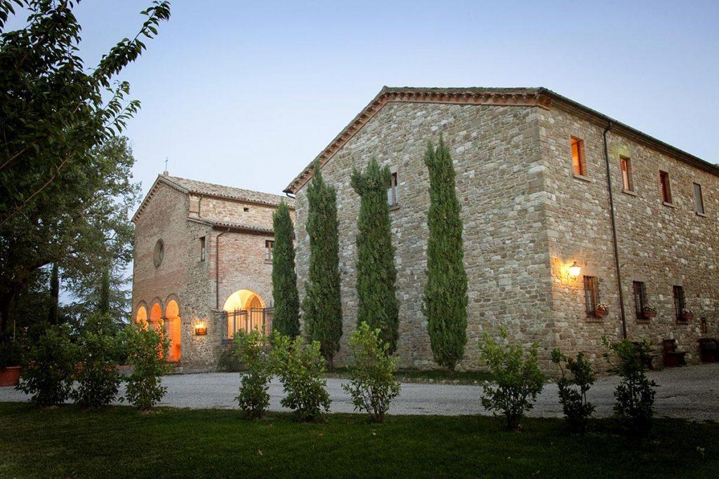 Frontino: il monastero di San Girolamo