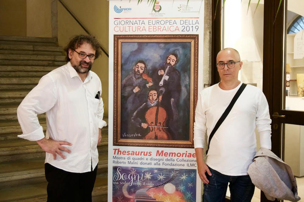 Francesco Lotoro con Roberto Malini