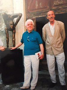Gianni Giannini con Gerardo Filiberto Dasi