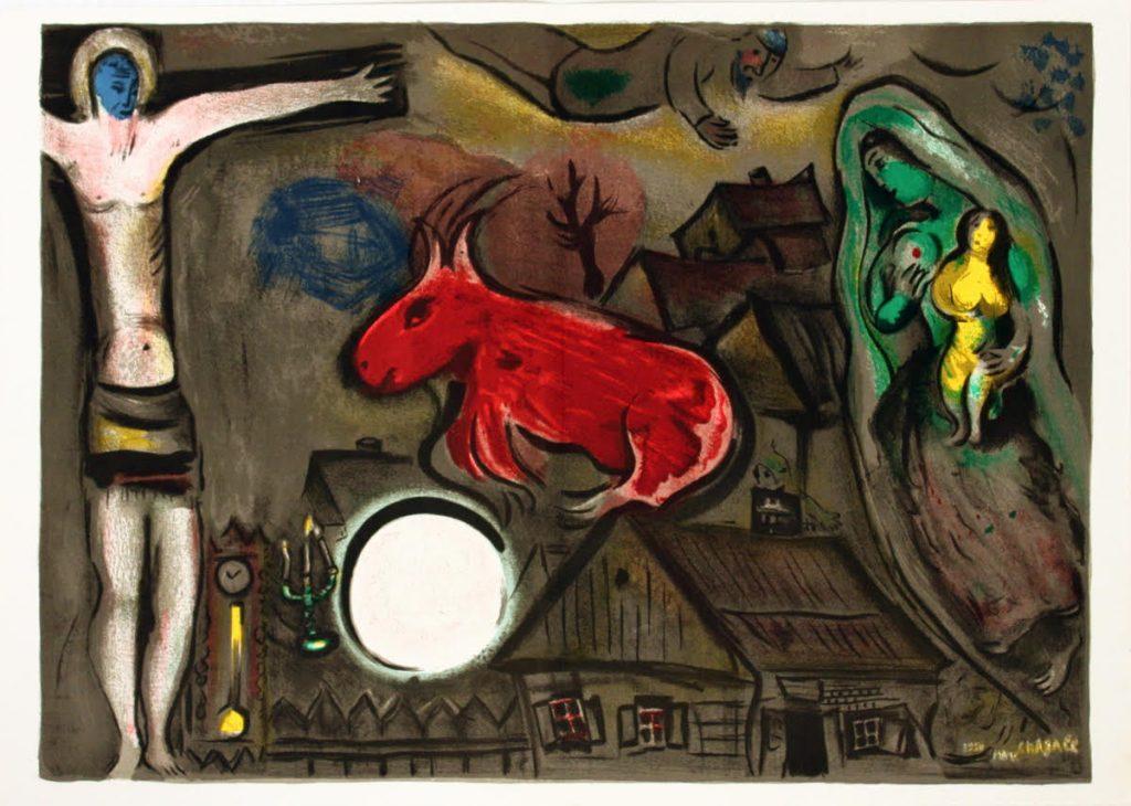 Marc Marc Chagall - Crocifissione mistica