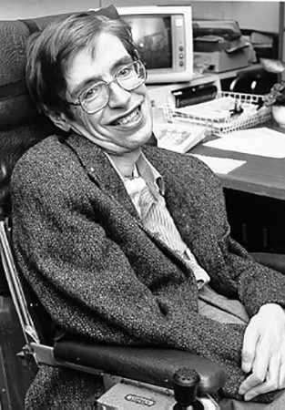 Stephen Hawkiong (Oxford 1942 - Cambridge 2018)