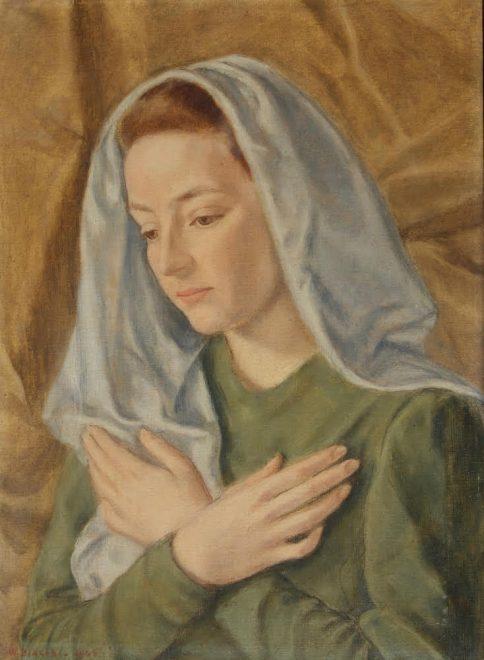 Wanda Cohen Biagini - Ritratto di donna velata