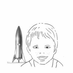 Elon Musk visto da Luca Novelli