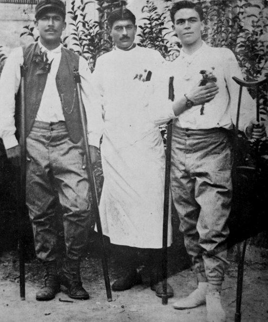 Ospedale militare di Treviso, 1915 - Anacleto Ligabue
