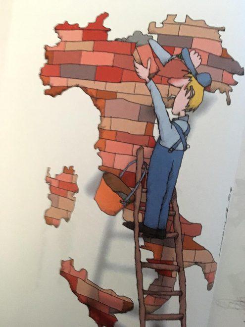 Illustrazione per «La Costituzione italiana»