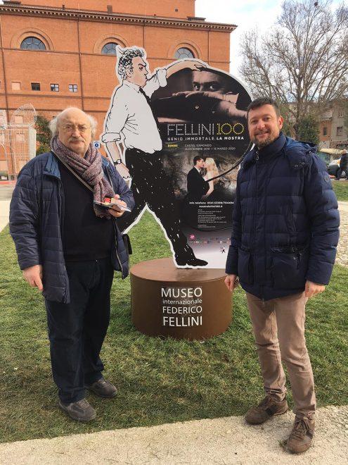 Salvatore Giannella e Davide Bagnaresi - Fellini 100