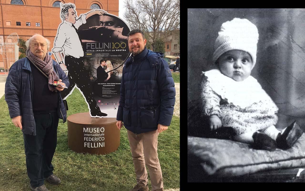 Davide, lo studioso che ha fatto riaffiorare l'infanzia di Fellini