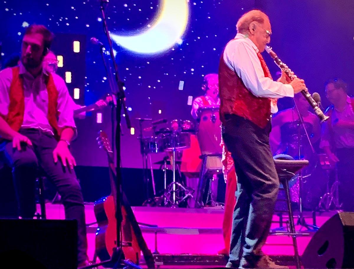 Una notte con Arbore tra Romagna e grande jazz americano