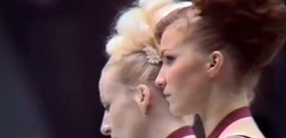 Lo sguardo negato di Věra, ginnasta di Praga in dissenso contro l'Urss