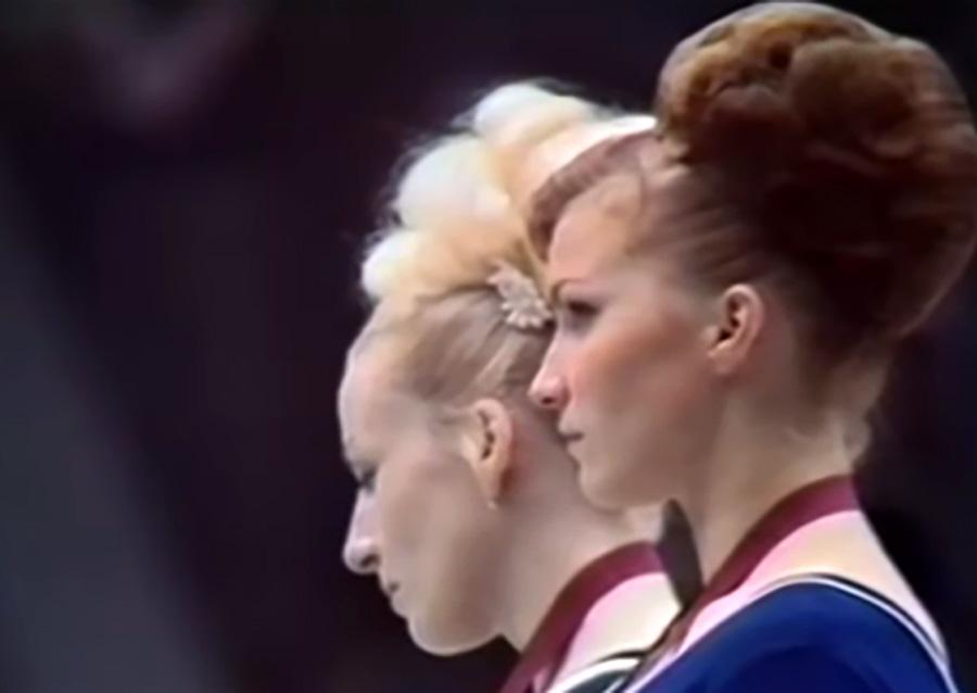 Lo sguardo negato di Věra, <br />ginnasta di Praga <br />in dissenso contro l'Urss