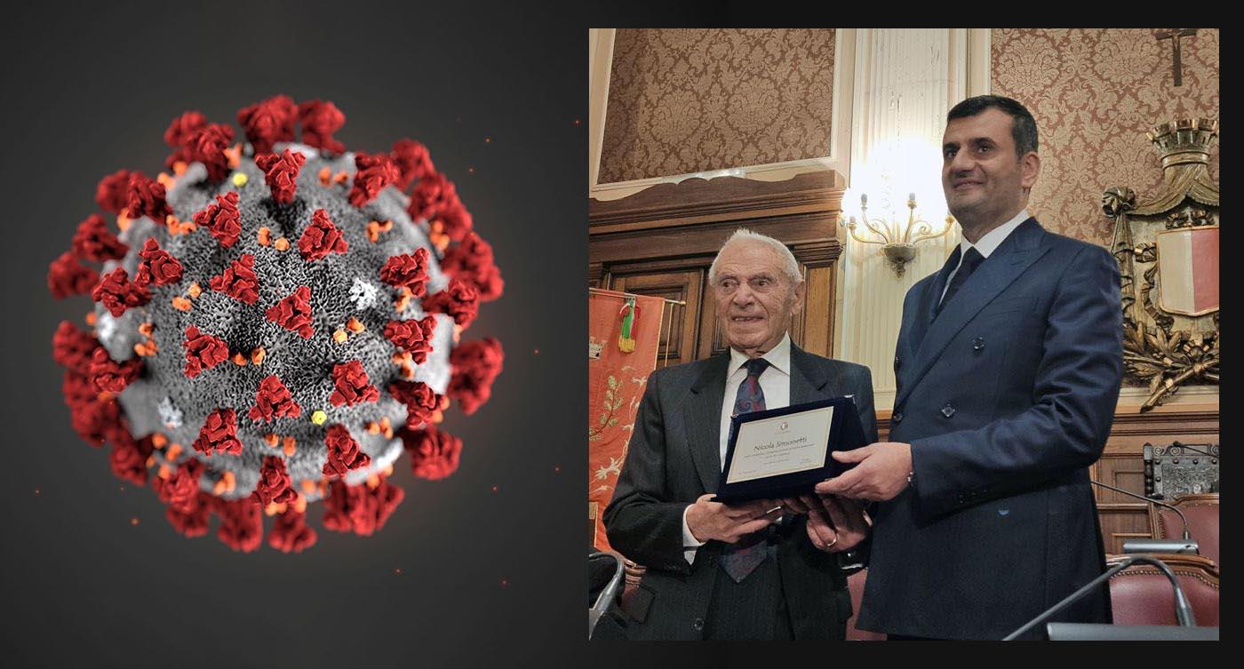 """Nicola Simonetti con un libro <br />ci aiuta a """"capire, <br />come difendersi"""" dal coronavirus"""