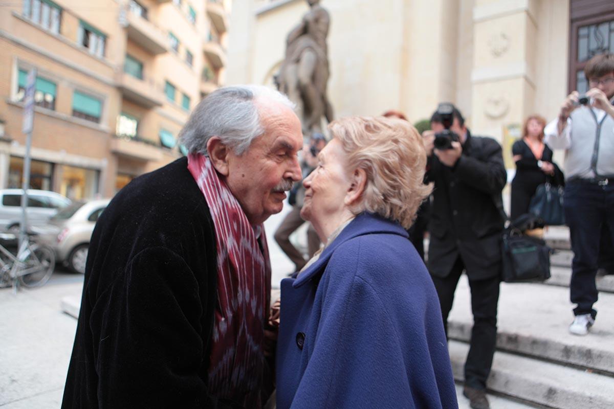 Tonino Guerra 100: <br />stop agli eventi <br />ma non ai ricordi: <br />3) il giorno che disse <br />grazie, dopo 66 anni, <br />a un angelo di Verona