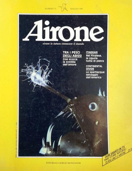 Alcune copertine di Airone durante la direzione di Salvatore Giannella