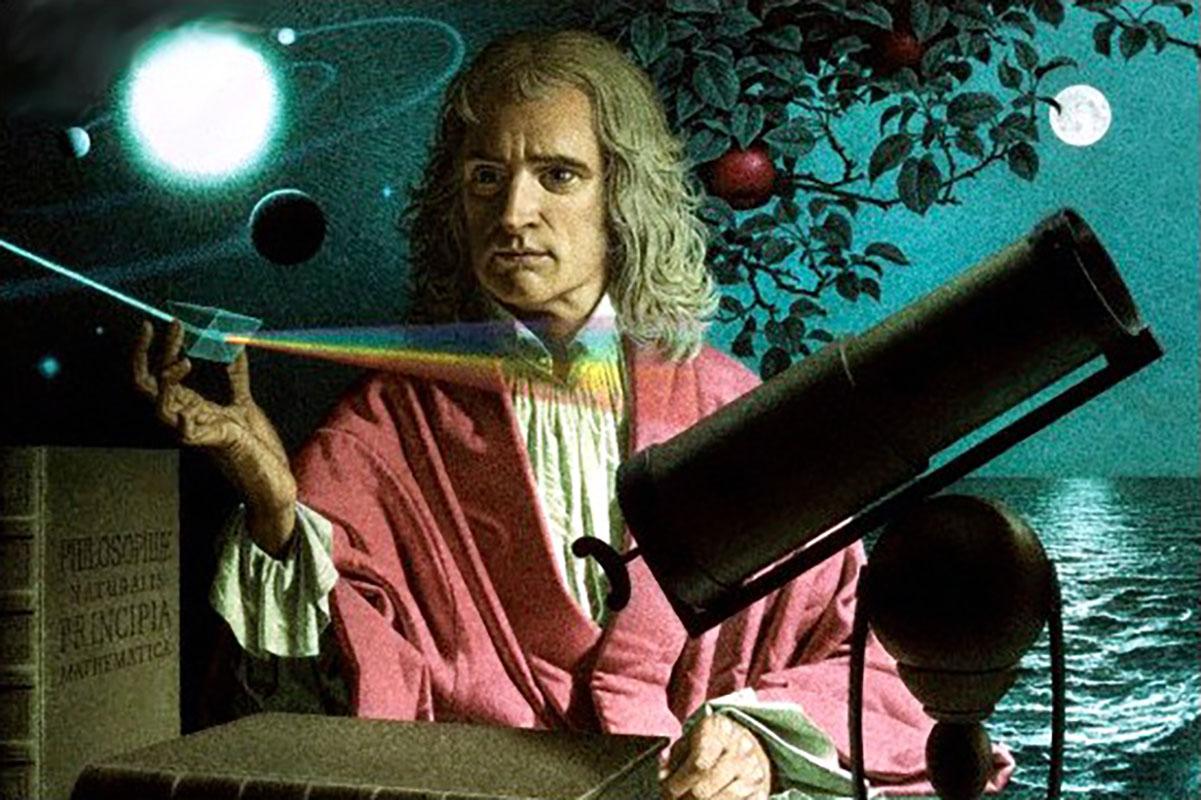 Isacco Newton, bambino <br />attaccabrighe universale