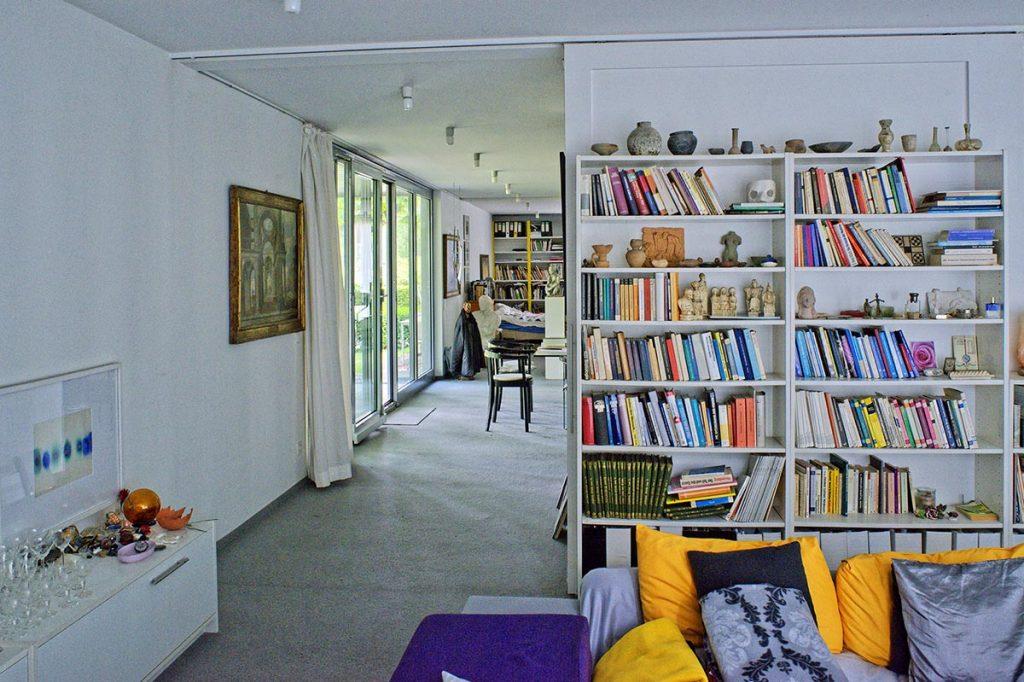 Eisenheim: casa Roland Guenter, la biblioteca