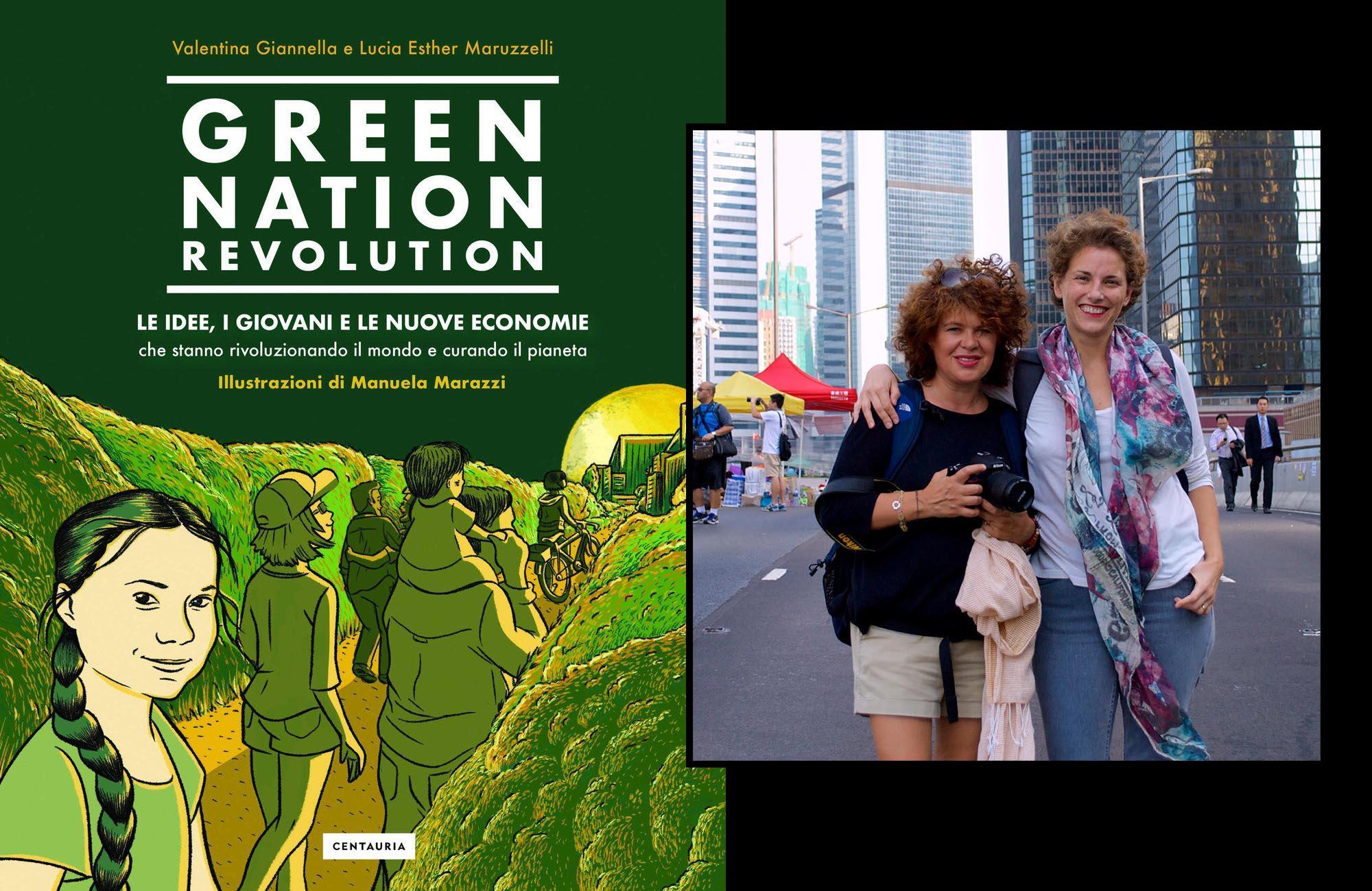 Il libro <em>Green Nation Revolution</em> <br />per la generazione Greta: <br />Terra, istruzioni per un miglior uso