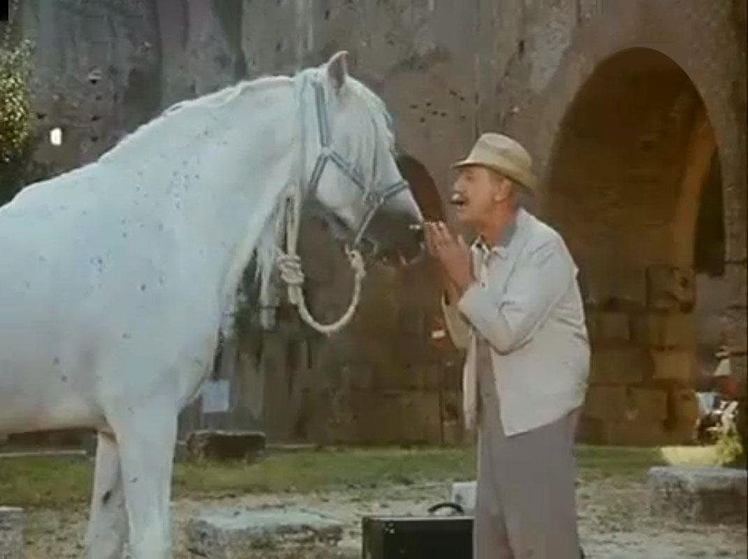 """Quando Alberto Sordi <br />mi confessò: <i>""""Difendo <br />cavalli e uomini anziani <br />dalla rottamazione""""</i>"""