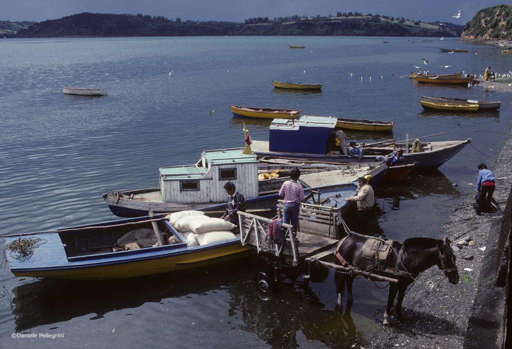 Chiloé, Cile. Castro
