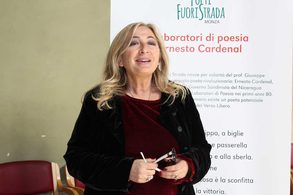 Antonetta Carrabs - Laboratorio poesia