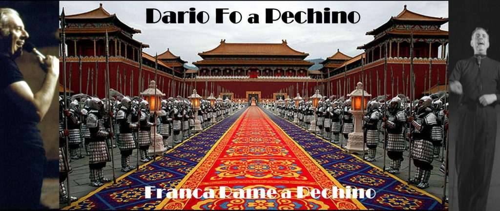 Dario Fo a Pechino