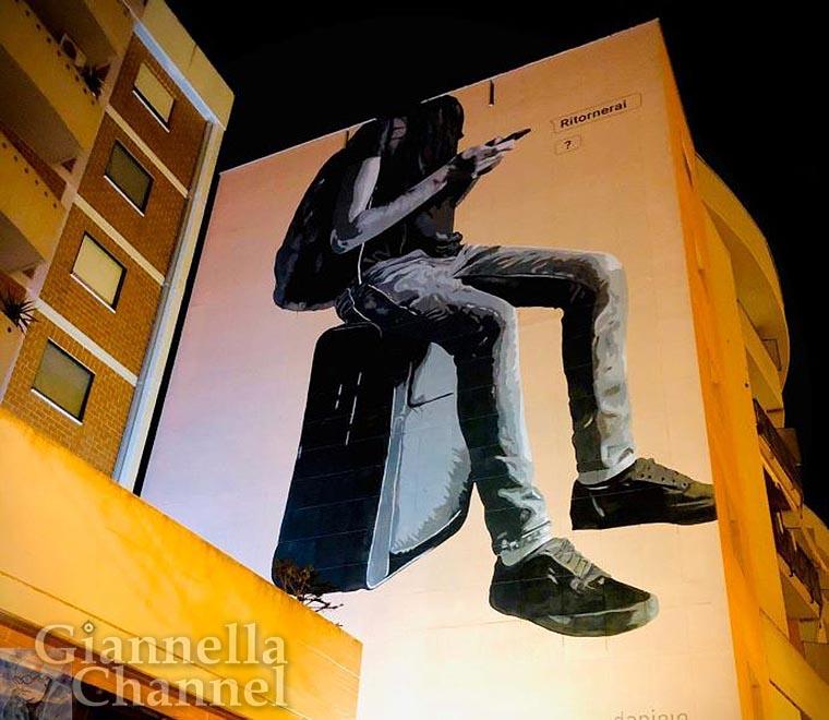 Street Art Puglia - Andria, Daniele Geniale