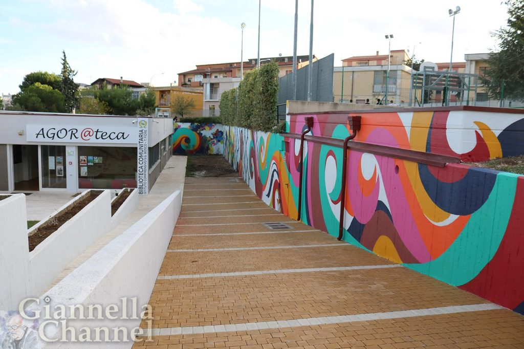 Street Art Puglia - Altamura - Cesario De Nola, Marco Forte, Donato Lorusso, Mattia Pellegrino