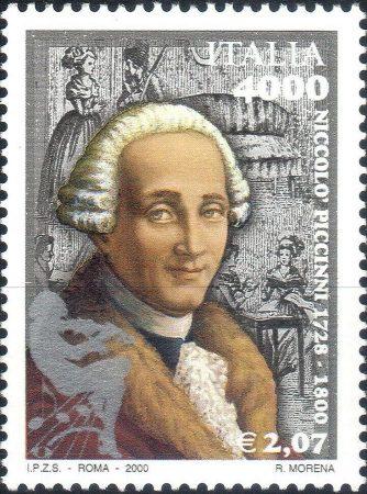 Niccolò Piccinni - Francobollo commemorativo