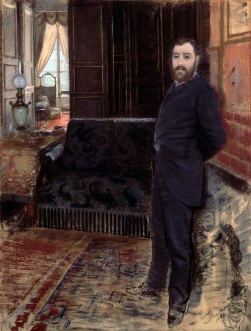 Giuseppe De Nittis - Autoritratto