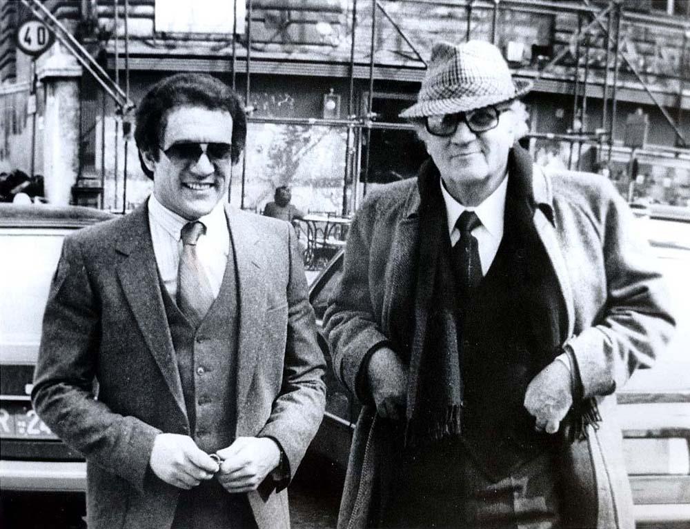Federico Fellini e Nicola Longo