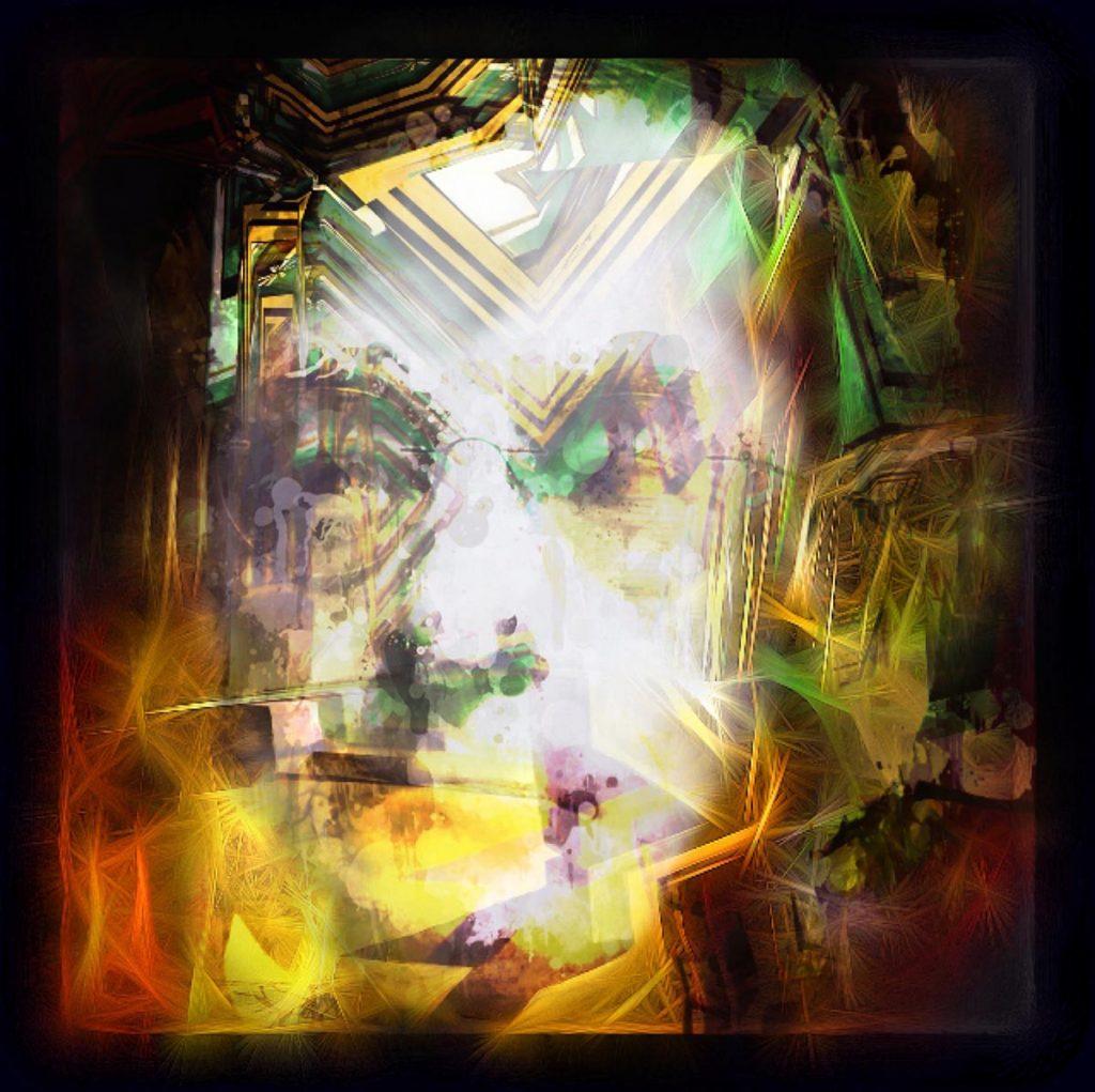 Mario Draghi - ritratto digitale Streamcolors